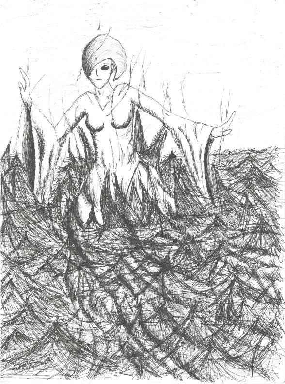 La déesse du lac